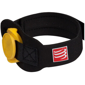Compressport Timing Chipband , musta